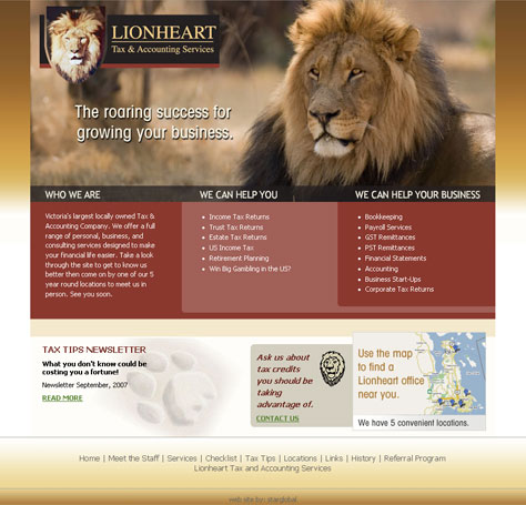 Lionheart Tax & Accounting Services